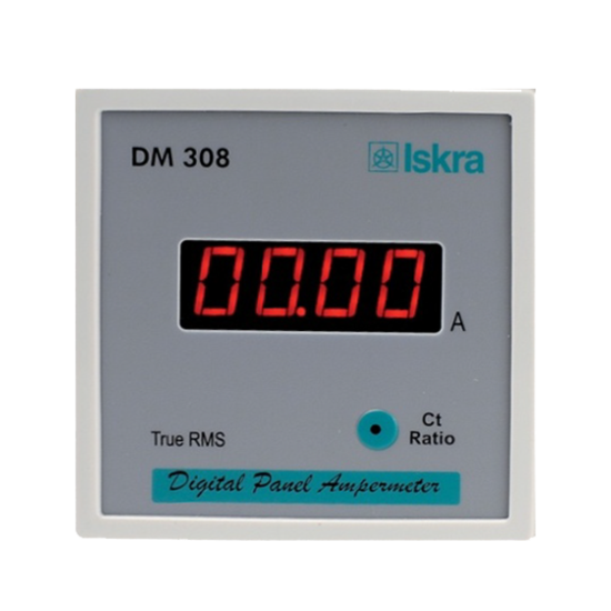 DM 308 - Digital Panel Ampermeter